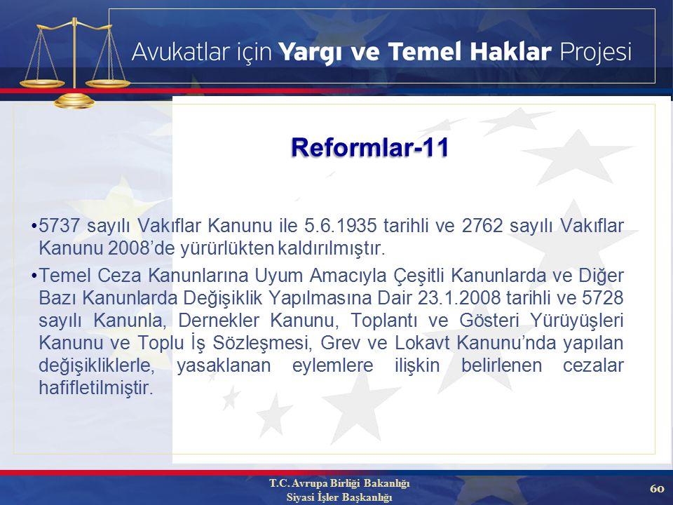 60 5737 sayılı Vakıflar Kanunu ile 5.6.1935 tarihli ve 2762 sayılı Vakıflar Kanunu 2008'de yürürlükten kaldırılmıştır.
