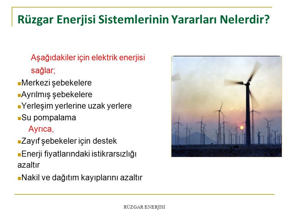 Rüzgar Enerjisi Sistemlerinin Yararları Nelerdir.