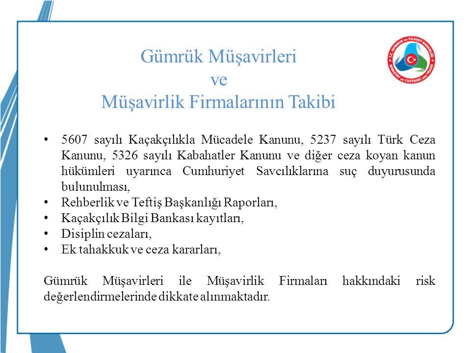 5607 sayılı Kaçakçılıkla Mücadele Kanunu, 5237 sayılı Türk Ceza Kanunu, 5326 sayılı Kabahatler Kanunu ve diğer ceza koyan kanun hükümleri uyarınca Cum