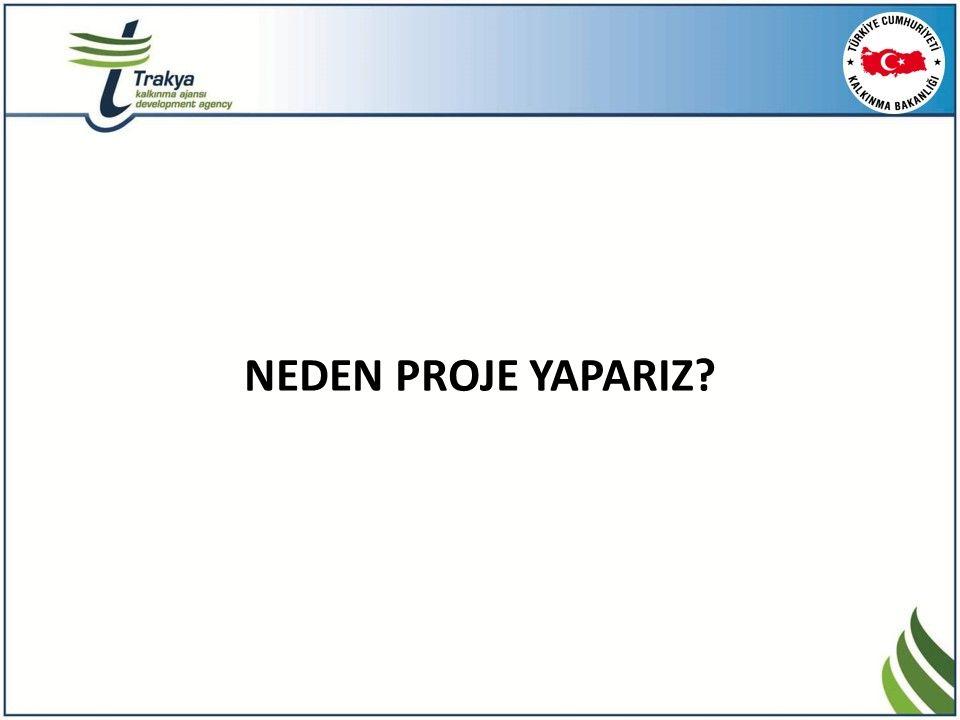 VARSAYIMLAR Projenin başarısını etkileyen veya belirleyen dışsal faktörlerin olumlu olarak ifade edilmesidir .