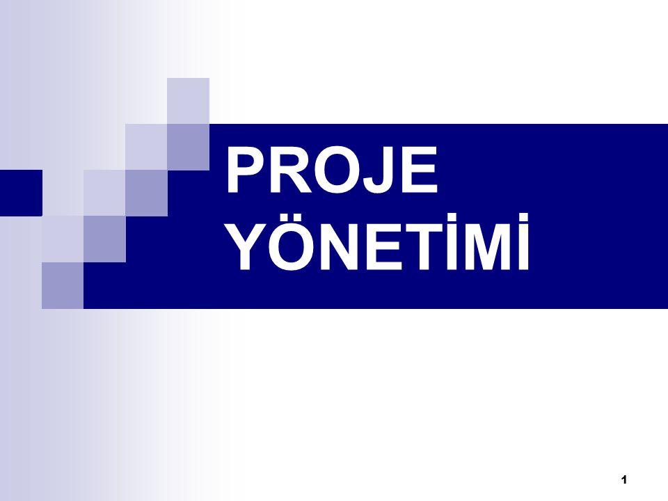 1 PROJE YÖNETİMİ