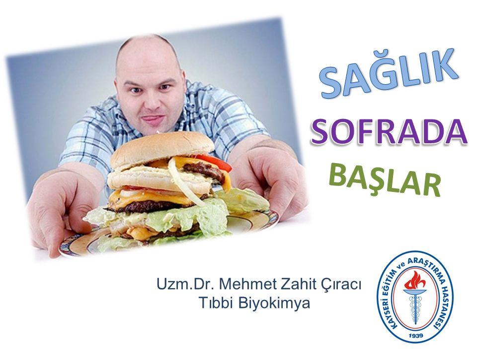 BAŞLAR Uzm.Dr. Mehmet Zahit Çıracı Tıbbi Biyokimya
