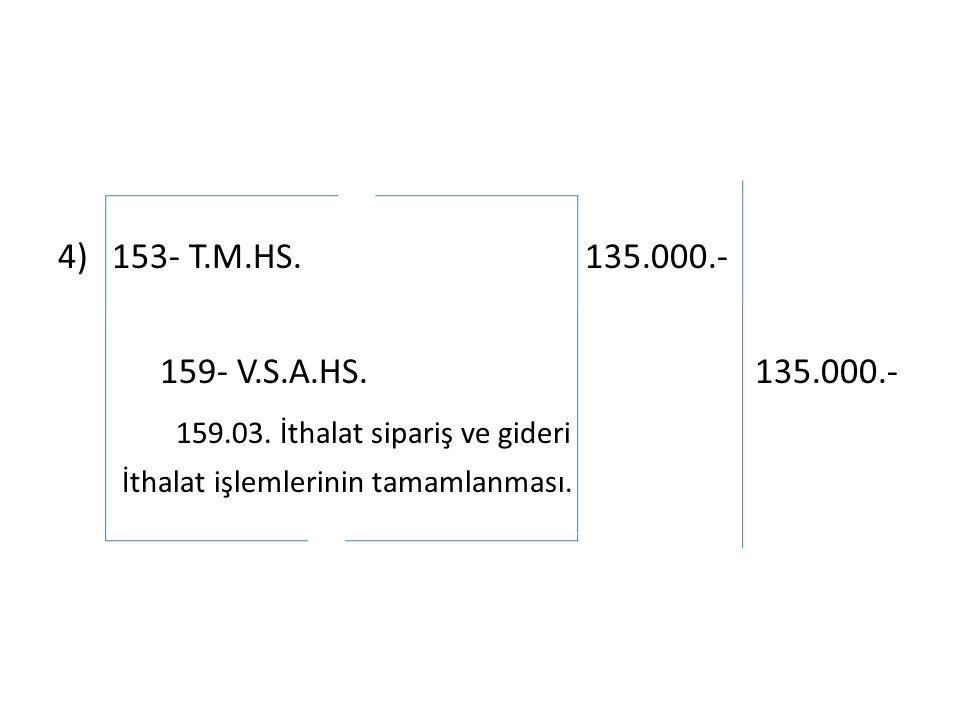 4)153- T.M.HS. 135.000.- 159- V.S.A.HS. 135.000.- 159.03.