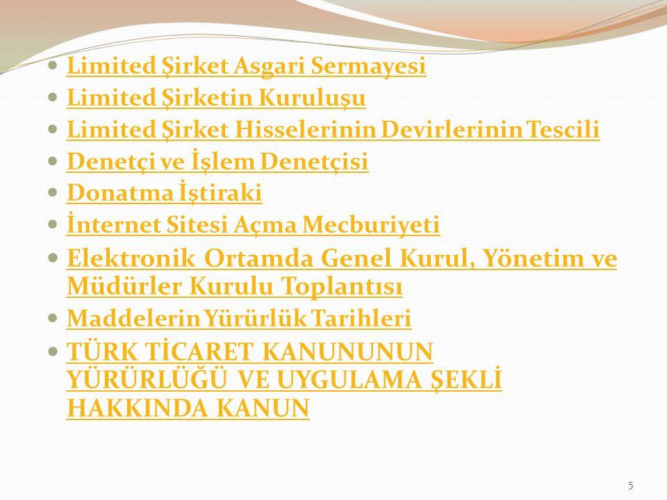 Tüm ortakların hep birlikte müdür sıfatıyla şirket işlerini idare ve şirketi temsil ettiği limited şirketlerde de aynı üç aylık süre içinde Türk Ticaret Kanununun 623 üncü maddesi hükmünün gereği yerine getirilir.