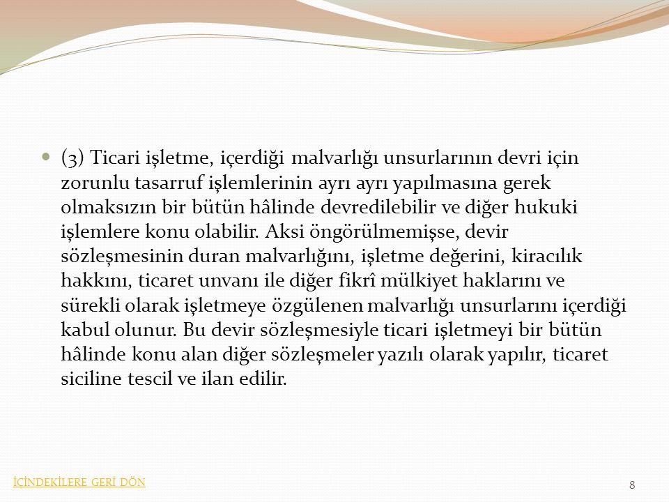 Madde 28 (Uygulama Kanunu) (1) Türk Ticaret Kanununun 434 ve 435 inci maddeleri, anılan Kanunun yayımı tarihinden itibaren onsekiz ay sonra yürürlüğe girer.