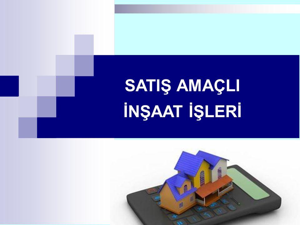 1111/179 SATIŞ AMAÇLI İNŞAAT İŞLERİ