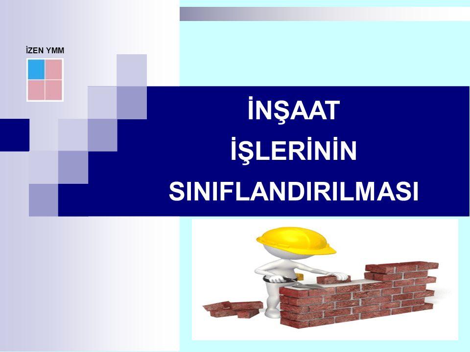 7070/179 KOOPERATİFLERDE İNŞAAT İŞLERİ