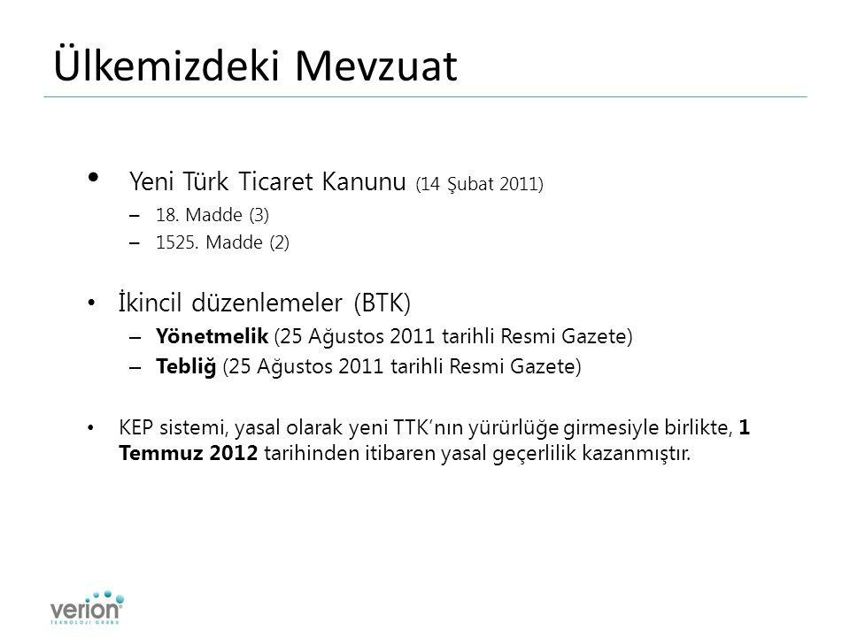 Ülkemizdeki Mevzuat Yeni Türk Ticaret Kanunu (14 Şubat 2011) – 18.