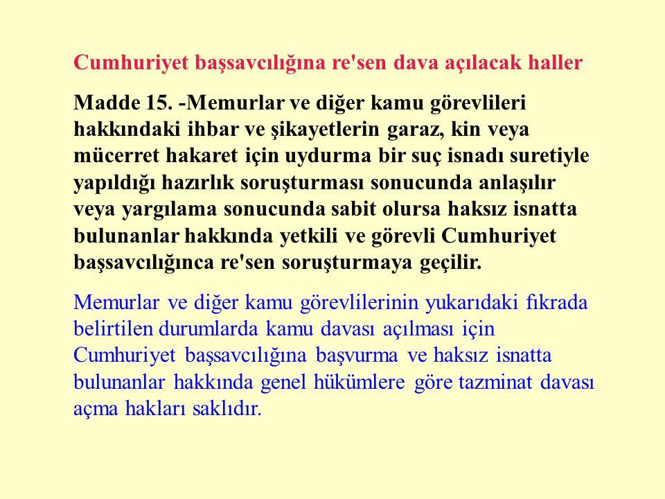 Yetkili ve görevli mahkeme Madde 13.