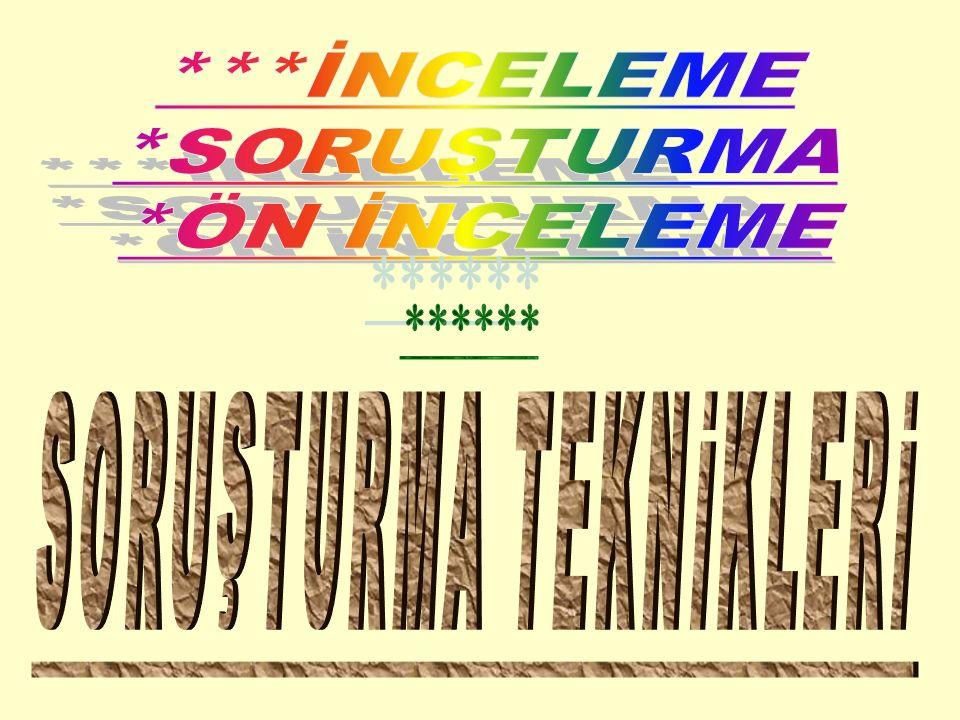 B-KINAMA: Memura, görevinde ve davranışlarında kusurlu olduğunun yazı ile bildirilmesidir.