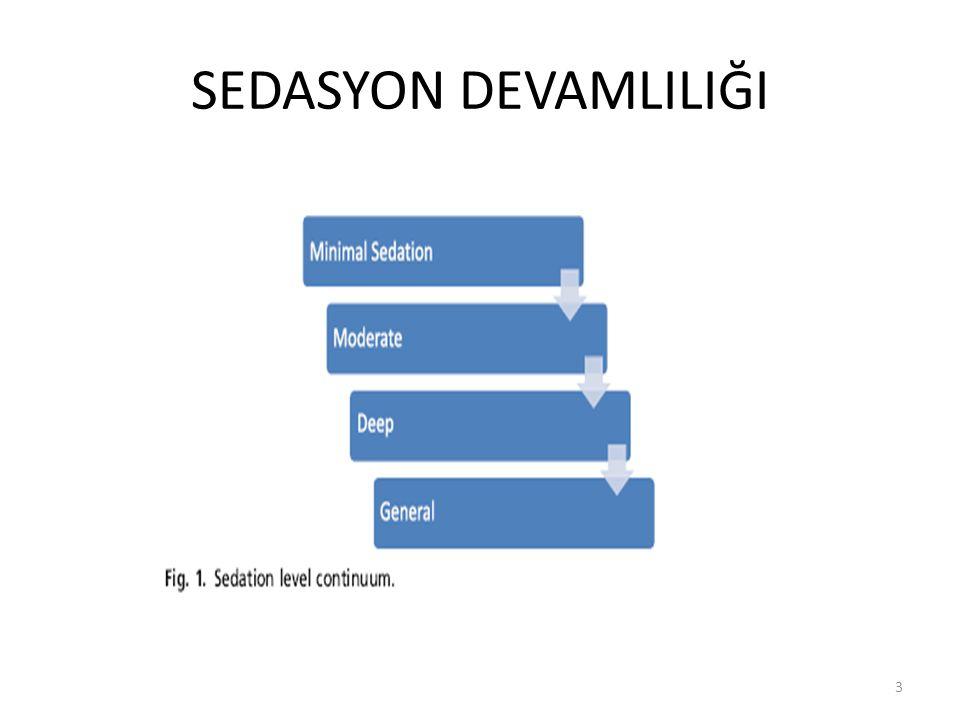 SEDASYON DEVAMLILIĞI 3