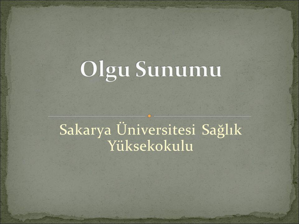 Sakarya Üniversitesi Sağlık Yüksekokulu