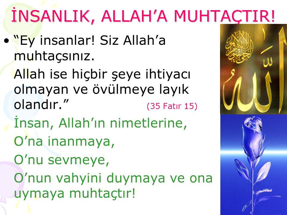 Allah'tan Bize : VAHİY Bizden Allah'a Dua/İbadet/ Kulluk