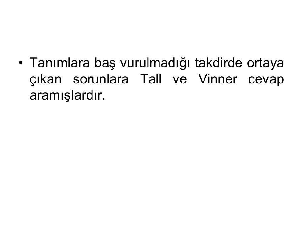 Tall&Vinner (1981) ve Vinner (1983), bir kavramın ismi duyulduğunda ya da görüldüğünde bunun belleğimizi uyardığını belirtmiştir.