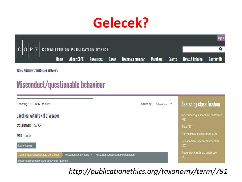 Gelecek http://publicationethics.org/taxonomy/term/791
