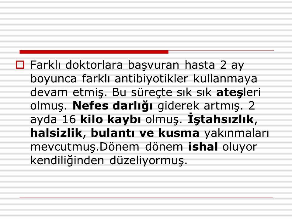  HBs Ag : ( - ).