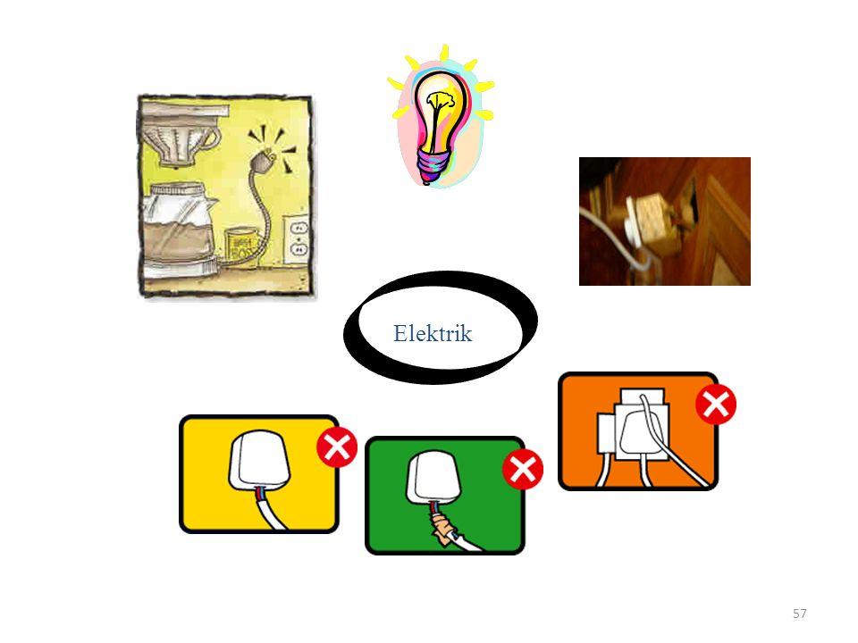56 YANGIN TEHLİKESİ 1)SİGARA 2)ISITMA 3)ELEKTRİK 4)KAYNAK, KESME
