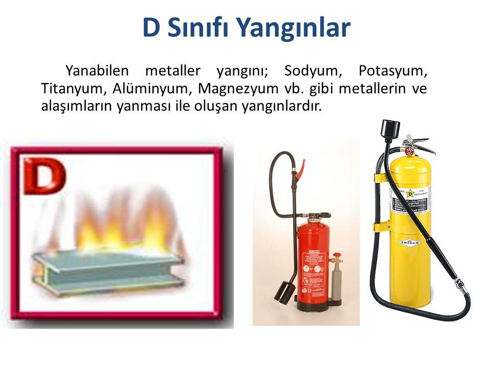 Likit petrol gazı, havagazı, hidrojen gibi yanabilen çeşitli gazların yanmasıyla oluşan yangınlardır.