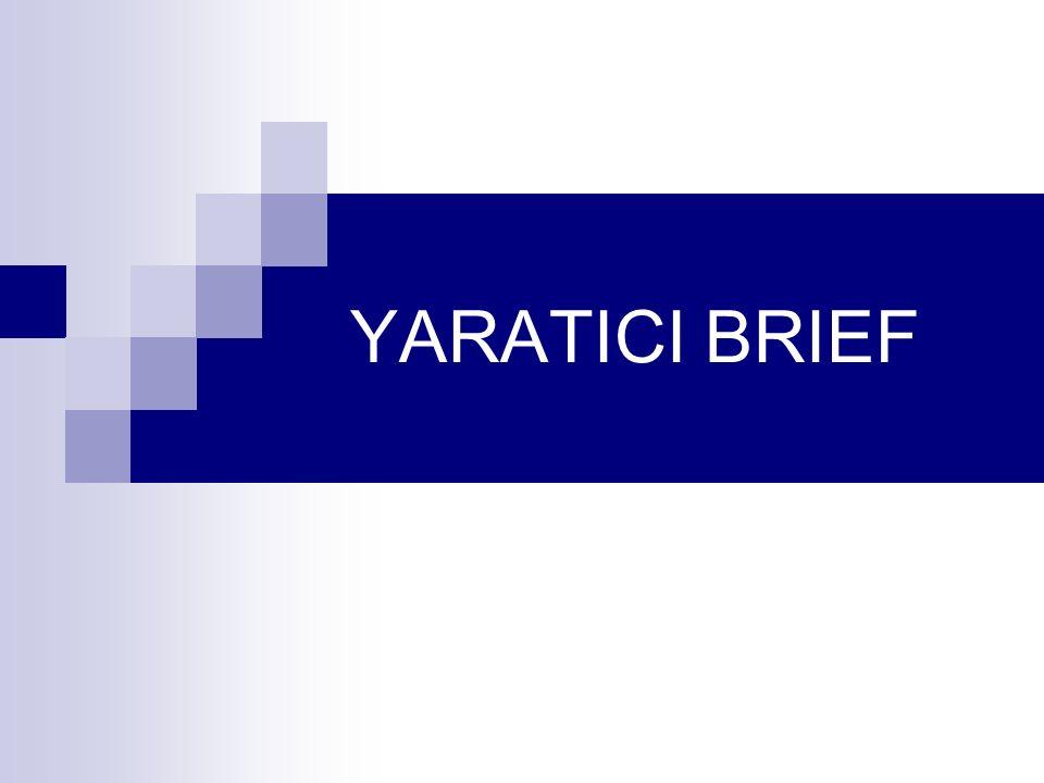 YARATICI BRIEF