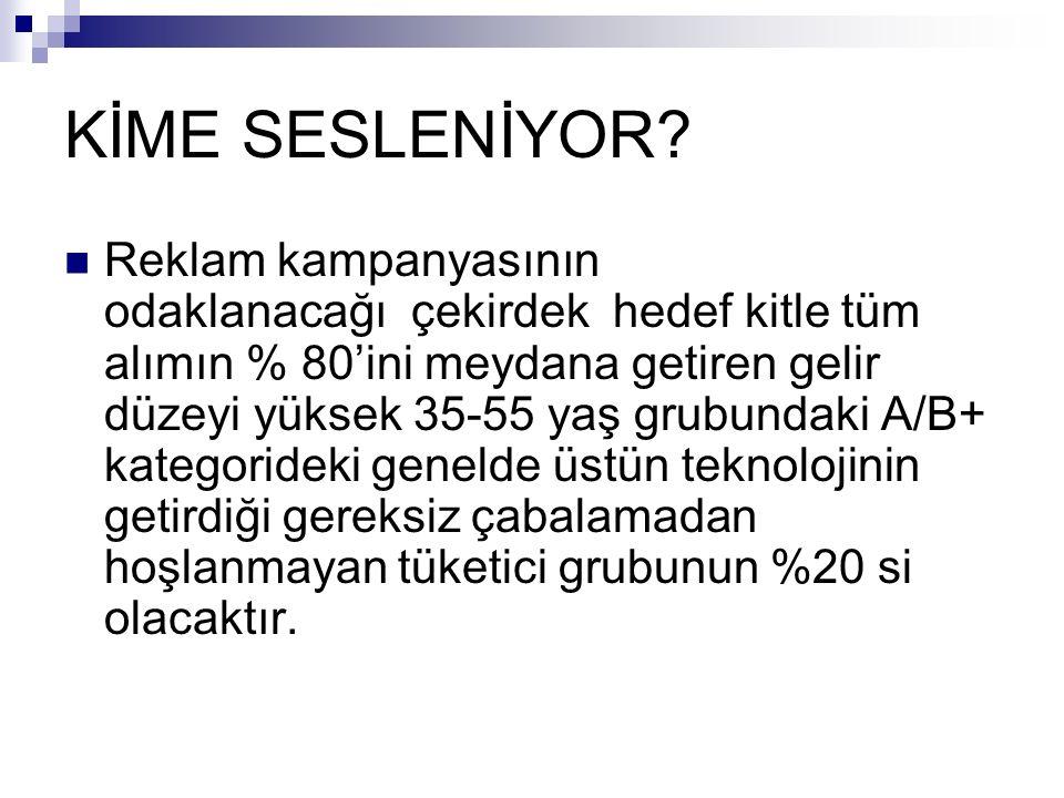 KİME SESLENİYOR.