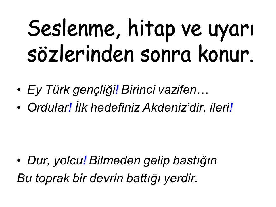 !Ey Türk gençliği. Birinci vazifen… !!Ordular. İlk hedefiniz Akdeniz'dir, ileri.