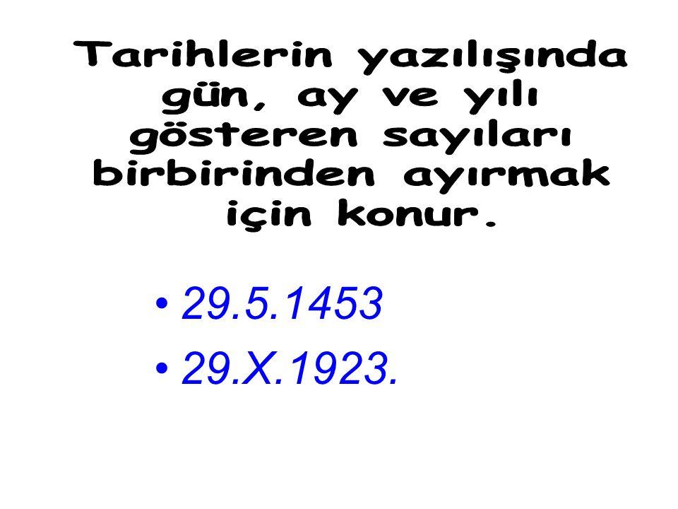 'nın 'ne'ndan 'nden'ın 'nün 'nde 'naDolmabahçe Sarayı'nın, Çankaya Köşkü'ne, Sait Halim Paşa Yalısı'ndan, Ankara Kalesi'nden, Horozlu Han'ın, Galata Köprüsü'nün, Bilge Kağan Abidesi'nde, Çanakkale Şehitleri Anıtı'na.