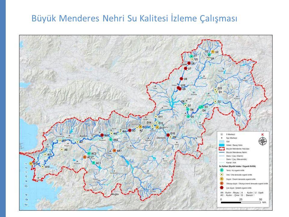 Büyük Menderes Nehri Su Kalitesi İzleme Çalışması