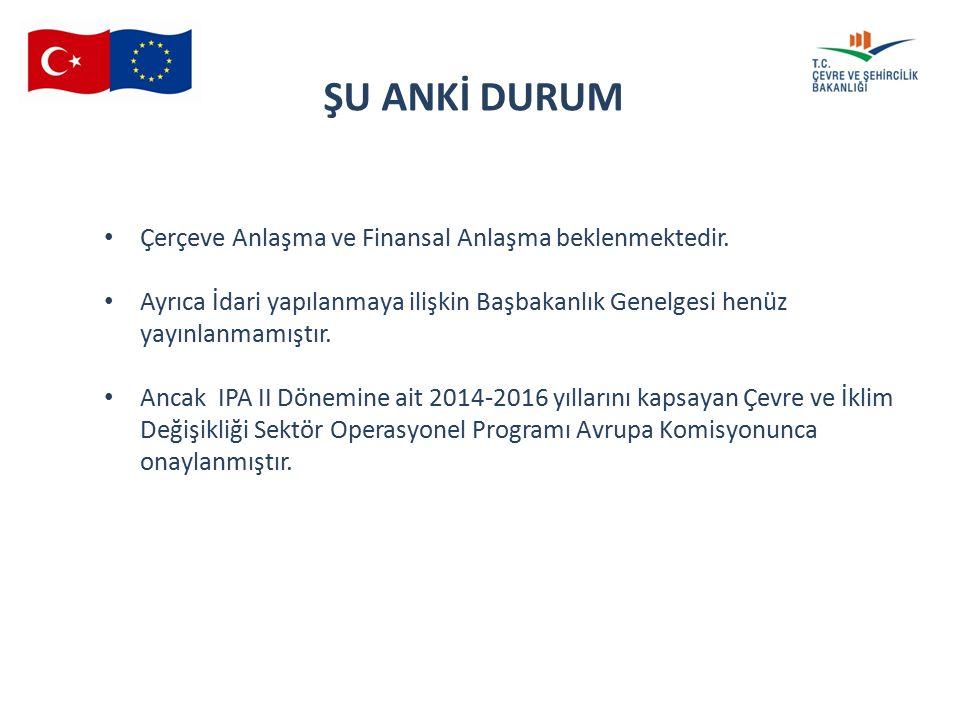 16 th SMC 04.06.2015 Çerçeve Anlaşma ve Finansal Anlaşma beklenmektedir.