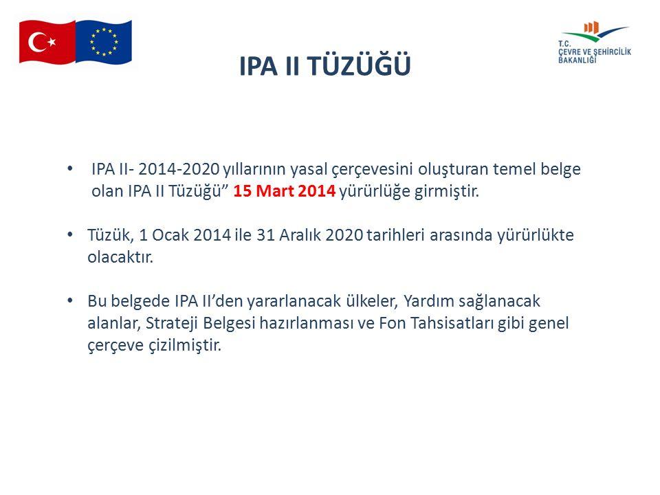 16 th SMC 04.06.2015 IPA II TÜZÜĞÜ IPA II- 2014-2020 yıllarının yasal çerçevesini oluşturan temel belge olan IPA II Tüzüğü 15 Mart 2014 yürürlüğe girmiştir.