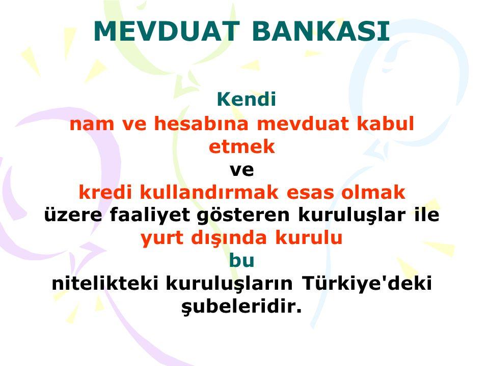 KATILIM BANKASI Özel cari ve katılma hesapları yoluyla fon toplamak ve kredi kullandırmak esas olmak üzere faaliyet gösteren kuruluşlar ile yurt dışında kurulu bu nitelikteki kuruluşların Türkiye deki şubeleridir.