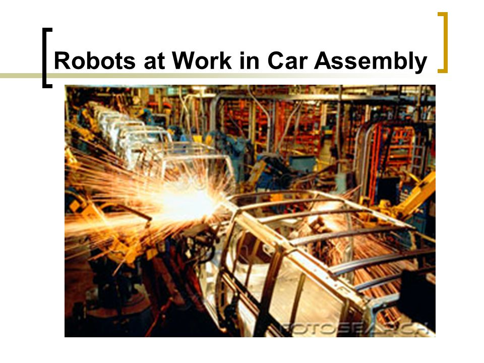 Robots at Work in Car Assembly