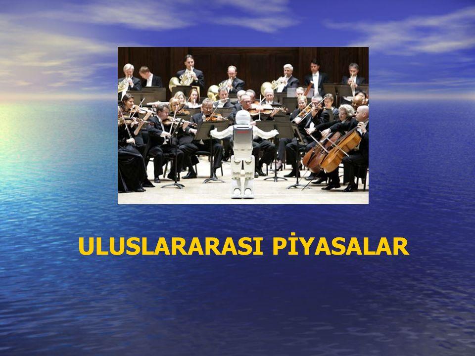 ULUSLARARASI PİYASALAR