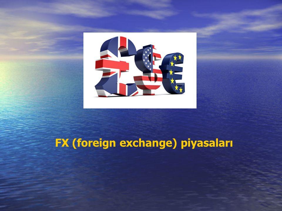 FX (foreign exchange) piyasaları