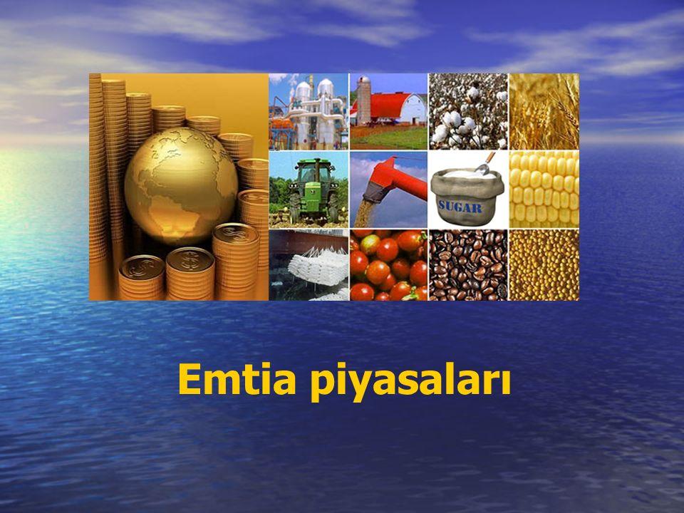 Emtia piyasaları