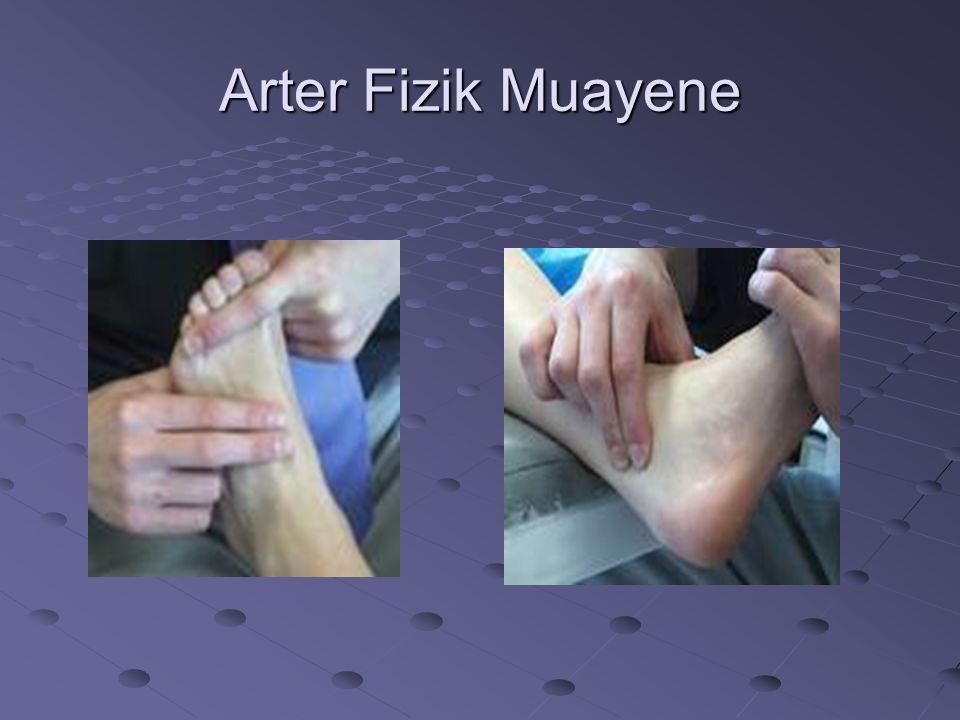 Arter Fizik Muayene