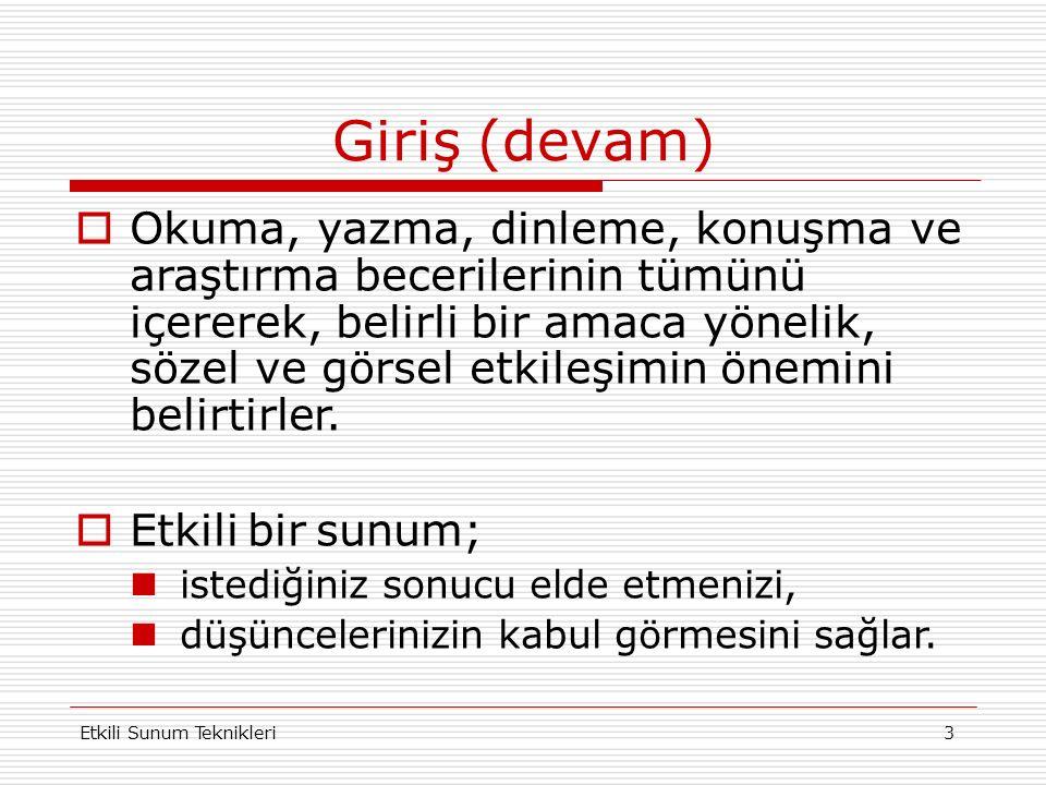 Etkili Sunum Teknikleri 23 ÖRNEK YANSI KOLEJ AYŞEABLA OKULLARI Ayşeabla Çocuk Yuvası ve ilkokulu, 1946 yılında Ankara`da kurulmuştur.