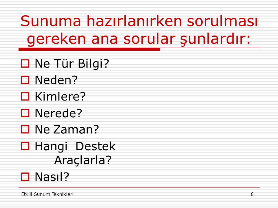 Etkili Sunum Teknikleri 28 ÖRNEK YANSI KOLEJ AYŞEABLA OKULLARI Ayşeabla Çocuk Yuvası ve ilkokulu, 1946 yılında Ankara`da kurulmuştur.