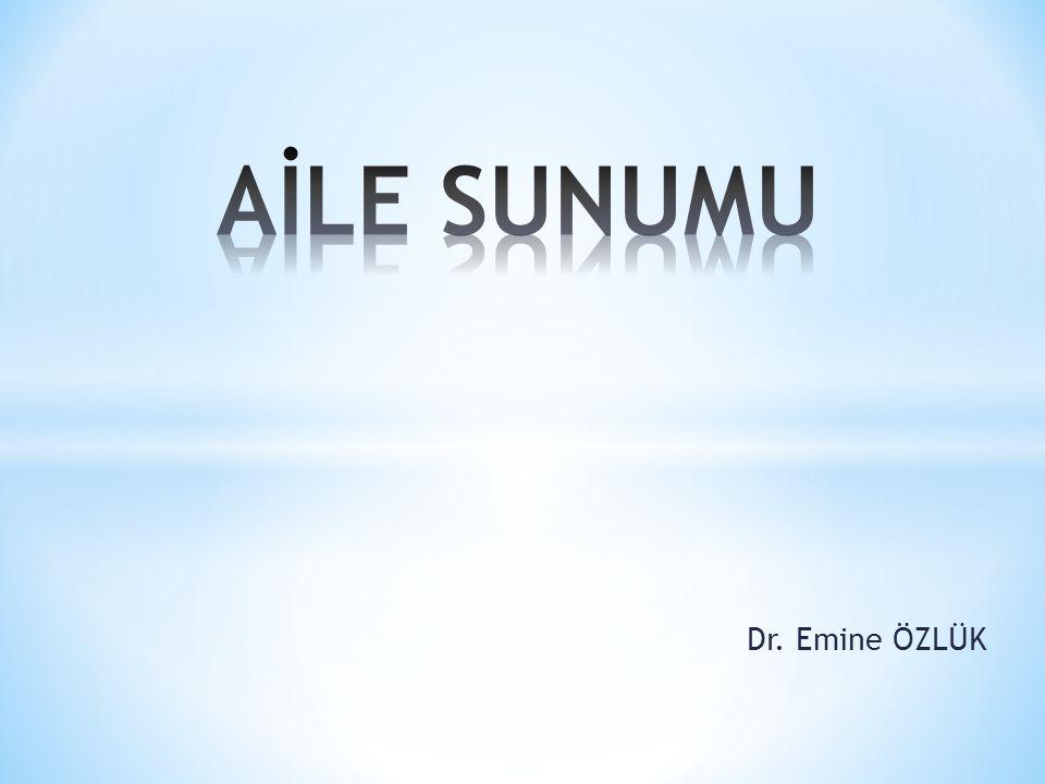 Dr. Emine ÖZLÜK