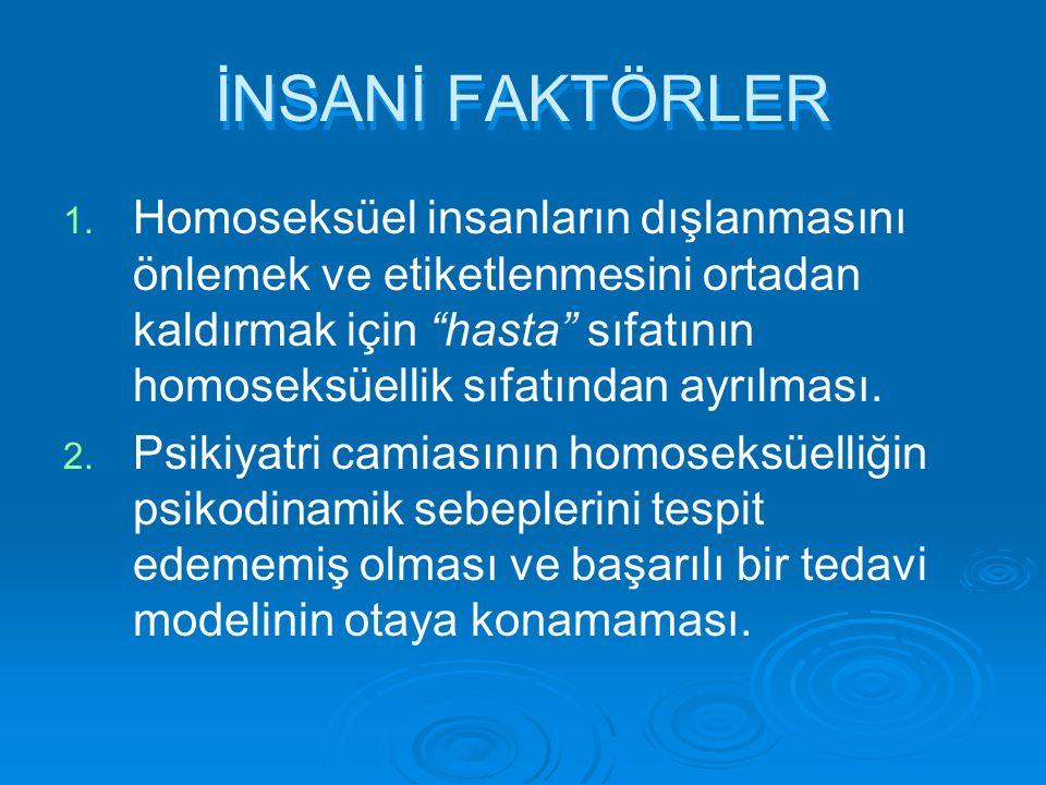 İNSANİ FAKTÖRLER 1. 1.