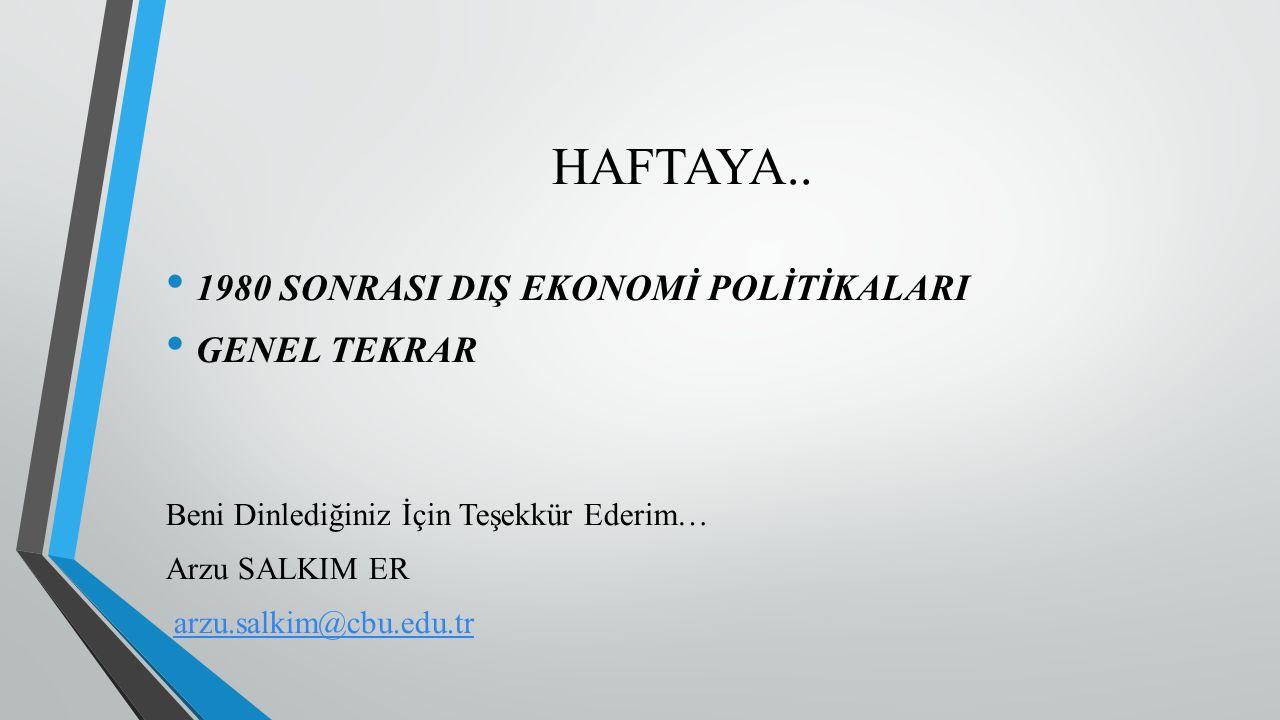 HAFTAYA..