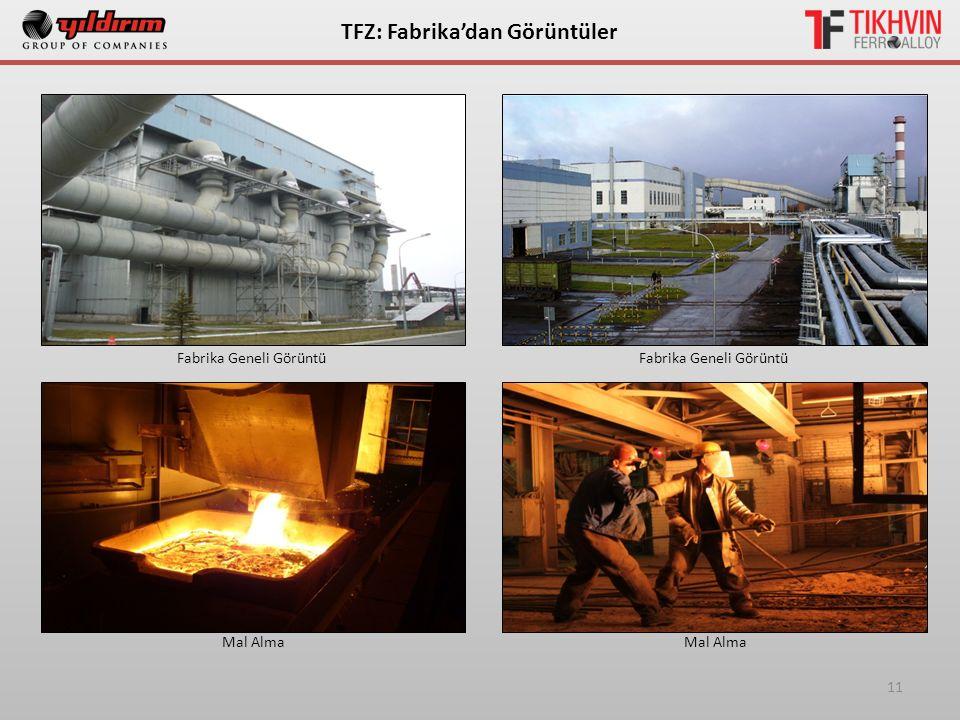 11 ТFZ: Fabrika'dan Görüntüler Fabrika Geneli Görüntü Mal Alma