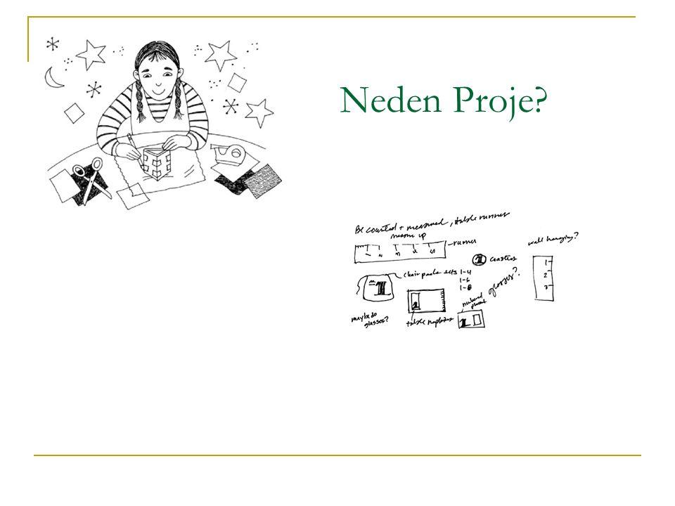 Neden Proje?