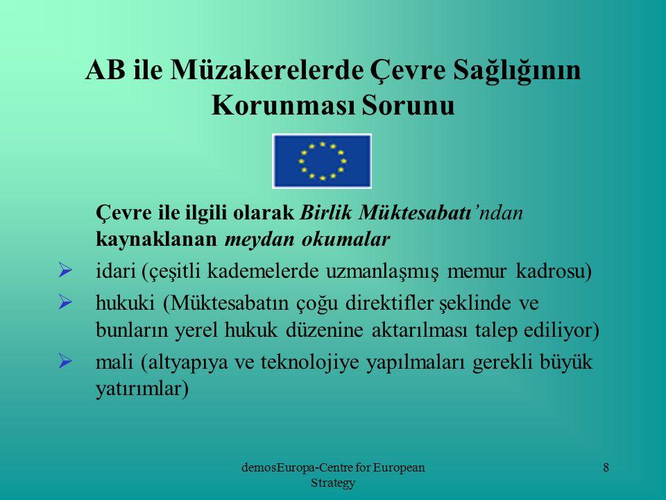"""demosEuropa-Centre for European Strategy 19 -Polonya'da ekoloji alanında sivil toplum örgütlerinin sayısı bayağı çok - 2002 yılı sonu verilerine göre çevre sağlığını korumaya yönelik faaliyet gösteren yaklaşık 800 çeşitli girişim var -Ekolojik çevreleri bütünleştiren temel faktör, AB fonlarıyla desteklenen programlara birlikte katılım -""""Birlik Fonları İçin Polonya Çevre Örgütleri Koalisyonu , çevre dostu sivil toplum örgütlerinin ortak çalışma biçimlerinin en önemlilerinden biri sayılıyor"""