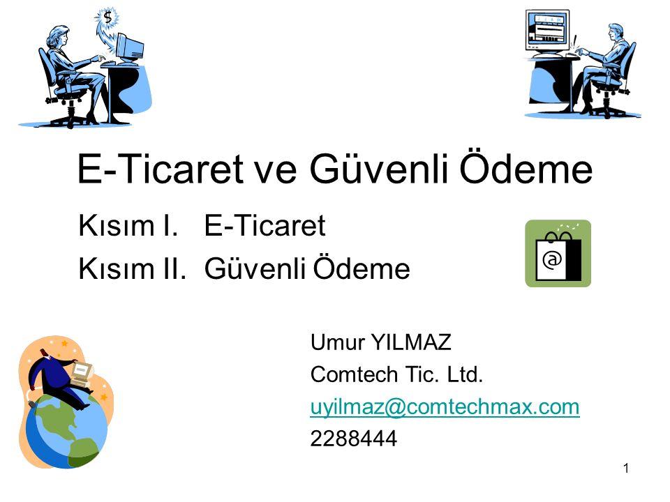 2 Kısım I. E-Ticaret