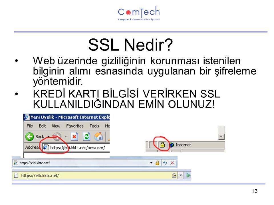 13 SSL Nedir.