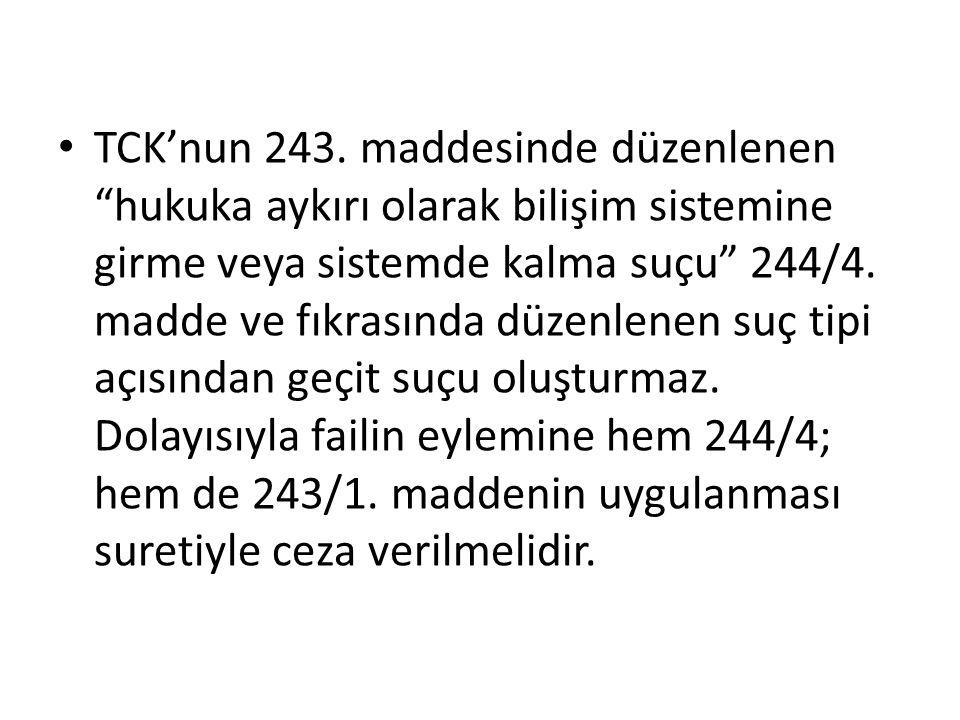TCK'nun 243.