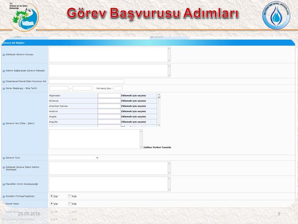 Kaydedilen Rapor Taslağını açarak raporu tamamlayabilmek için Genel Bilgiler bölümünü doldurduktan sonra sisteme yükleme işlemi yapılacaktır.