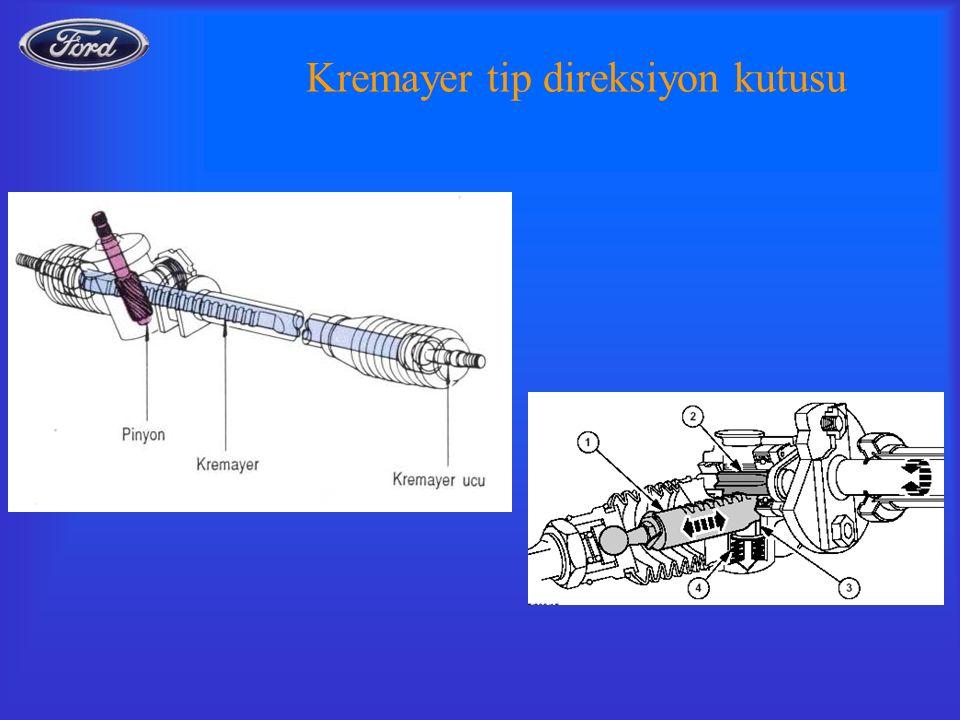Kremayer tip direksiyon kutusu