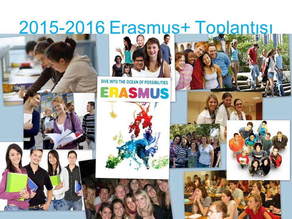 2015-2016 Erasmus+ Toplantısı