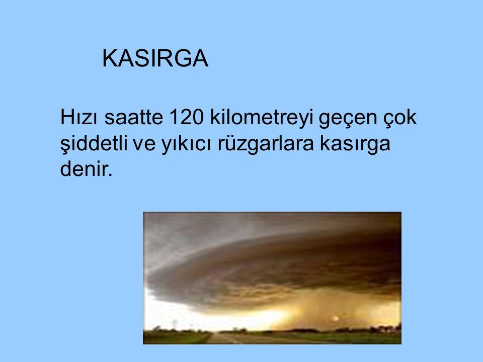 YILDIRIM DÜŞMESİ Artı ve eksi yüklü bulutların gökyüzünde çarpışması sonucu oluşan elektrik akımının yeryüzüne düşmesi oluşan yıkımlardır.